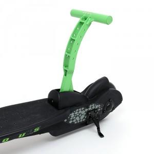pulse scooter nitrous schwarz gr n melon kinderroller. Black Bedroom Furniture Sets. Home Design Ideas